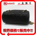 CHANEL lambskin barrel chain shoulder bag black 》 for 《