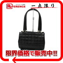 CHANEL lambskin chocolate bar barrel handbag black 》 for 《
