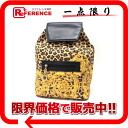 """Gianni Versace Leopard backpack """"response."""""""