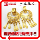 CHANEL 96P CC earrings gold 》 for 《