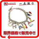 CHANEL 03A logo bracelet silver / multicolored 》 for 《
