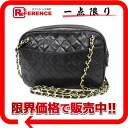CHANEL lambskin chain shoulder bag black 》 for 《