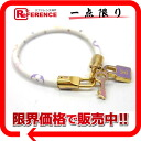 "Louis Vuitton monogram multicolored ""ブラスレラックイット"" bracelet Bronn (white) M6604E 》 for 《"