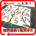 """》 02P02Aug14 for 《 as well as 3 (alphabet 3) HERMES silk scarf """"boyfriend """"Alphabet multicolored new articles"""