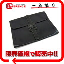 "HERMES ""ジジェ GM"" documents case boxcalf navy I 刻 》 for 《"