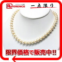 Recycling jewelry white pearl necklace pearl 8.0mm〜8.5mm 》 02P05Apr14M for 《