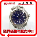 タグホイヤーリンクメンズ watch SS quartz blue clockface WT1113-0 》 02P05Apr14M for 《
