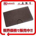 "HERMES card case ""Poll crawl"" Epson chocolate L 刻新品同様 》 for 《"