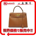 "Hermès ""Kelly 28"" handbag out sew with shoulder strap クシュベル gold gold bracket W engraved ""response.""-02P05Apr14M"