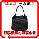 PRADA nylon X leather semi-shoulder bag black 》 02P05Apr14M for 《