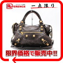 "BALENCIAGA editors bag ""the giant city"" dark brown 173084 》 for 《"