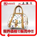 "Louis Vuitton monogram multicolored ""Priscilla"" handbag Bronn (white) M40096 》 02P05Apr14M for 《"