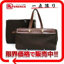 "Hermes エールバッグカバス GM replacement bag tote bag トワルオフィシ ALE dark brown gold bracket F inscribed ""response.""-02P05Apr14M"