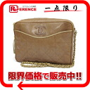 》 02P05Apr14M of Brown with the CHANEL lizard chain shoulder bag fringe line for 《