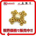 CHANEL imitation pearl broach gold 》 02P05Apr14M for 《