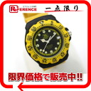 タグホイヤーフォーミュラ 1 professional 200M men watch SS rubber yellow quartz 380.513 》 for 《