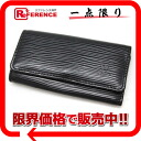 "Louis Vuitton EPI leather key holder 4 4-key case Noir M63822 translation is ""enabled."" 02P02Aug14"