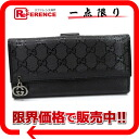 "Gucci GG PIERCE (Pierce GG) imprimé W hook length wallet black 212104 beauty products ""enabled."""