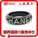 CHANEL 03A rhinestone bangle bracelet black 》【 02P05Apr14M for 《