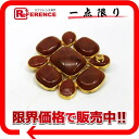 Broach gold / brown 》 02P05Apr14M with the CHANEL 98P stone for 《