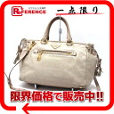 PRADA leather 2WAY handbag pink beige system 》 for 《