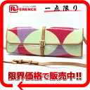 "ルイヴィトンヴェルニ ""pochette フルール"" clutch bag shoulder bag multicolored M91118 》 for 《"