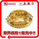 Dior rhinestone broach gold 》 for 《