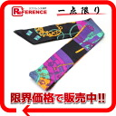 "HERMES silk scarf ""ツイリー (ツィリー)"" TOURS DE CLES black X pink system-free 》 for 《"