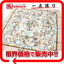"""》 for 《 as well as a stone and a Western stone work) light brown system new article of the HERMES silk scarf """"boyfriend"""" PIERRE d ORIENT et d OCCIDENT( Orient"""
