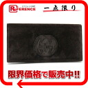 Two gucci suede fold long wallet dark brown 》 02P02Aug14 for 《