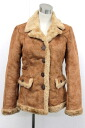 38 burberry blue label fake leatherette jacket Lady's brown 》 for 《