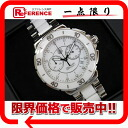 "Tag Heuer formula 1 chronograph ladies watch 12 P diamond quartz SS × white ceramic CAH1211 good as new ""support."""