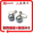 """Recycled jewelry Blue Pearl 8.3 mm earrings brand new as well as """"support"""" 02P05Apr14M02P02Aug14"""