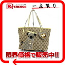 Gucci GUCCIOLI (グッチョリ) GG pug tote bag beige 212373 》 for 《