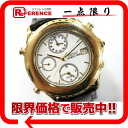 SEIKO world thyme men watch alarm deployment 18YG black co-belt white clockface 5T52-6A80 》 for 《