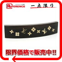 "Louis Vuitton hair accessories ""Valletta Silva near"" dark brown / gold M65937 beauty product 》 02P02Aug14 for 《"
