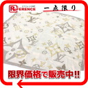 Louis Vuitton silk scarf gray X beige system 》 02P02Aug14 for 《