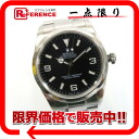 "Rolex Explorer 1 mens watch black letter Edition SS automatic Y-114270 beauty products ""enabled."" fs3gm02P05Apr14M"