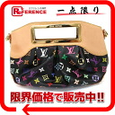 "Louis Vuitton monogram multicolored ""Judy PM"" 2WAY ハンドバッグノワール M40255 》 fs3gm 02P05Apr14M for 《"