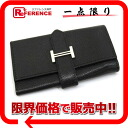 Four エルメスベアン key case Epson sill bird metal fittings black L 刻 》 for 《