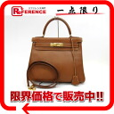 "クシュベルゴールドゴールド metal fittings Y 刻 》 with the sewing shoulder strap in 28 HERMES ""Kelly"" handbags for 《"