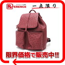 Like-new 》 pro-ostrich rucksack wine red for 《