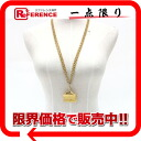 CHANEL matelasse bag motif necklace gold 》 for 《