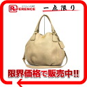 PRADA 2WAY tote bag leather beige 》 for 《