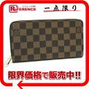 """ルイヴィトンダミエ """"ジッピー wallet"""" round fastener long wallet N60015-free 》 for 《"""