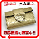 "Gucci HEART (heart) micro guccissima 6-key case gold 203551 as good as new ""response.""-02P02Aug14"