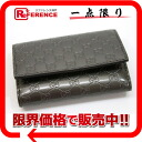 Micro Gucci guccissima 6-unused key case metallic dark grey 138093 02P02Aug14? s support.""