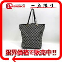 Gucci GG canvas bucket-type Tote Bag Black x white s correspondence.""