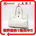CHANEL caviar skin tote bag white 》 for 《