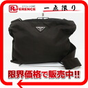 "Prada nylon slim shoulder bag black ""response.""-02P02Aug14"